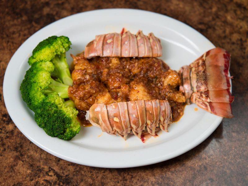 Garlic Lobster